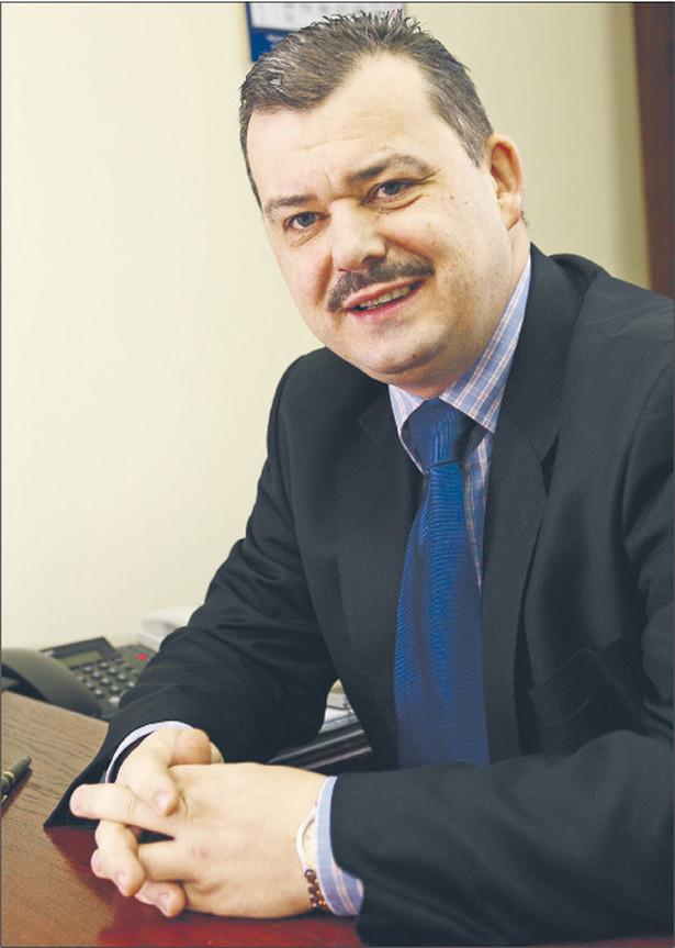 Wojciech Bronicki, dyrektor departamentu podatku akcyzowego i ekologicznego w Ministerstwie Finansów Fot. Wojciech Górski