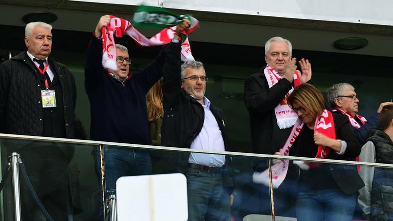 Ryszard Czarnecki i Jarosław Gowin