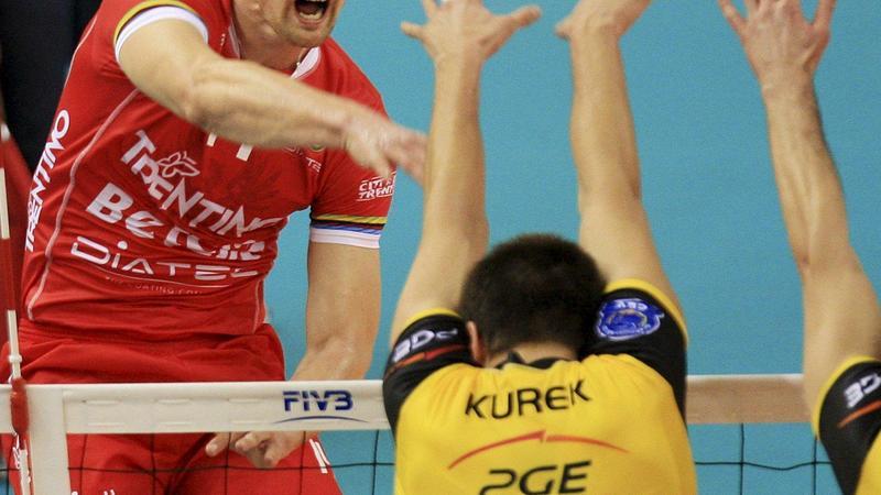 Bartosz Kurek (z lewej)
