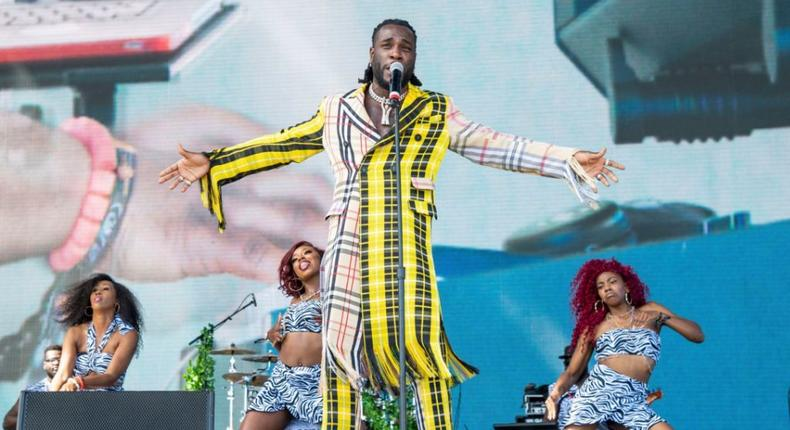 Here is all you need to know about Burna Boy's contenders at the 2021 Grammy Awards and their nominated albums. (Coachella)