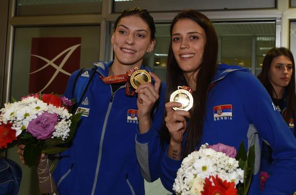 Tijana Bošković i Stefana Veljković