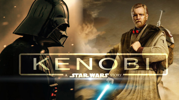 "Poster fan-made pentru ""Kenobi: a Star Wars story"""