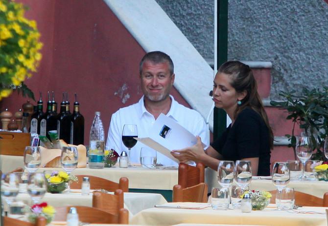 Roman Abramovič sa suprugom Darijom Zukovom