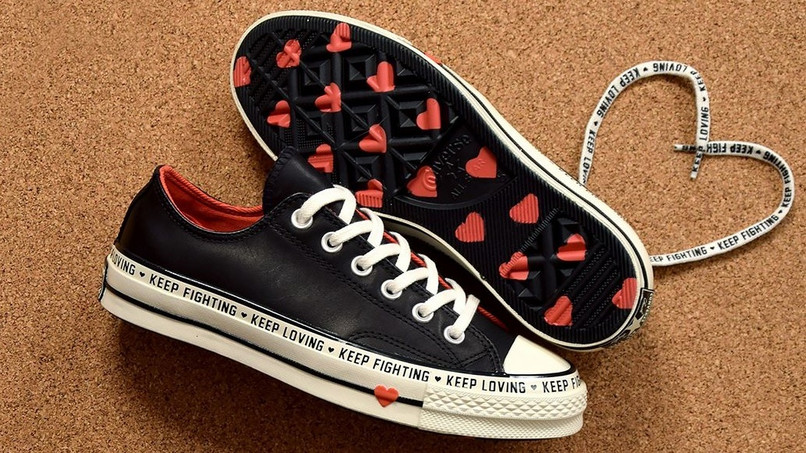 Diese Chucks Von Converse Sind Perfekt Fur Den Valentinstag