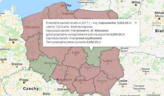 Ile zarabia się w twoim regionie? Oto ogólnopolski ranking wynagrodzeń w powiatach