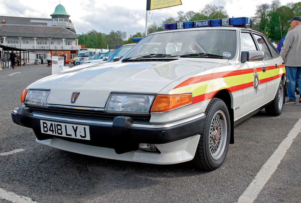 Rover SD1 3500 Police Car (od 1976 r.)