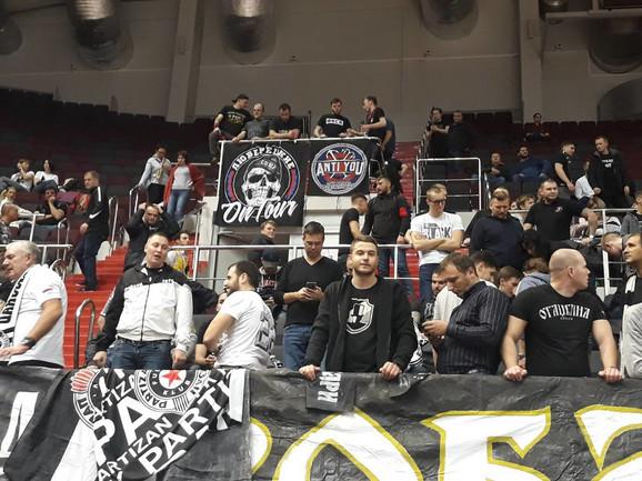 Partizan su podržali i navijači CSKA
