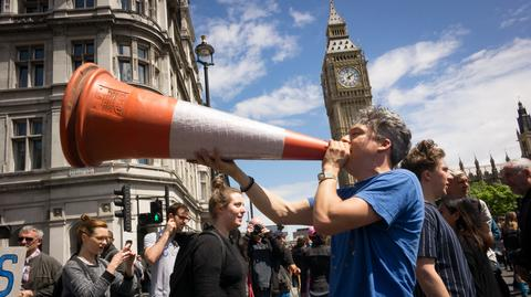 Londyn i jednak z ulicznych manifestacji przeciwników wyjścia Wielkiej Brytanii z UE