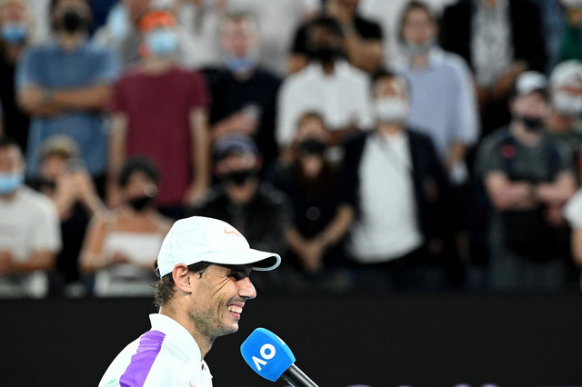 Rafael Nadal posle pobede nad Majkom Moom u drugom kolu Australijan opena