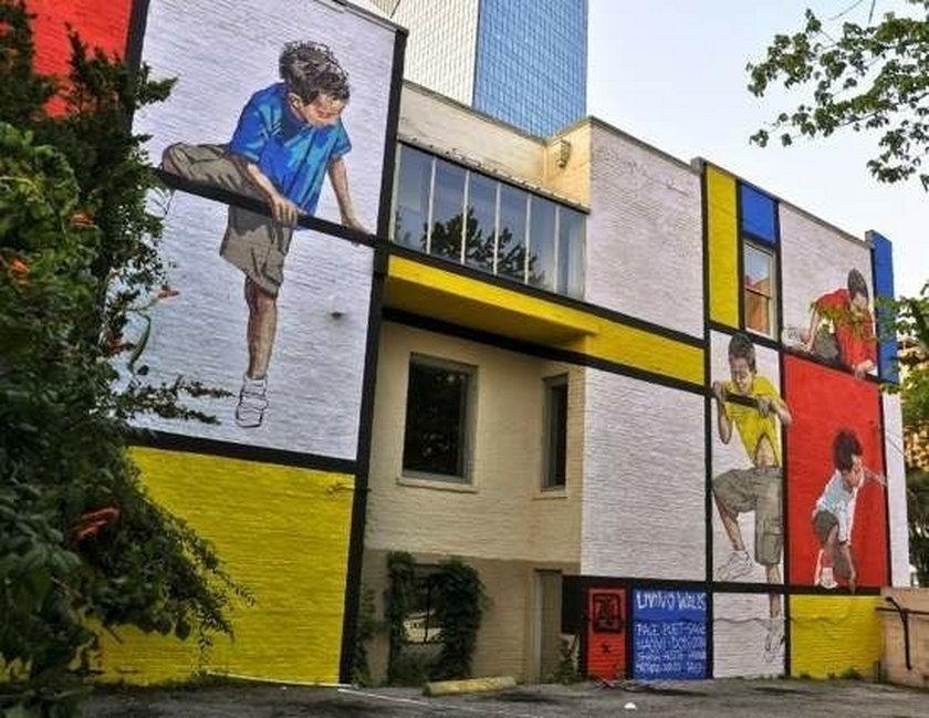 Niesamowite murale