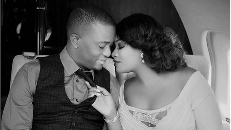 Toolz Oniru and Tunde Demuren's pre-wedding photo