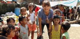 Dominika Kulczyk pomaga dzieciom ze śmietniska