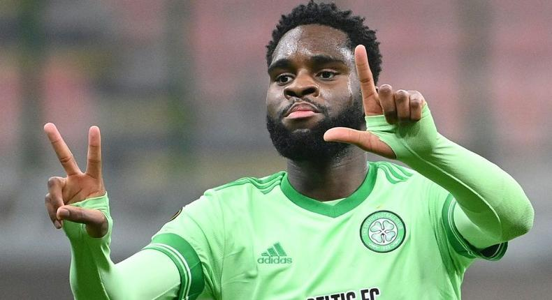 Odsonne Edouard secured a transfer from Celtic to Crystal Palace on Tuesday Creator: Vincenzo PINTO