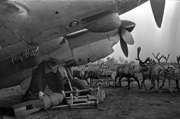 Samolot Pe-2 Fot. Autor nieznany