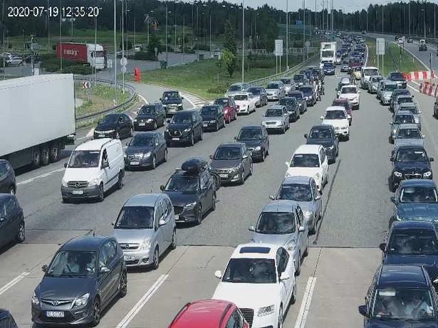 Autostrada A1 - PPO Nowa Wieś zjazd