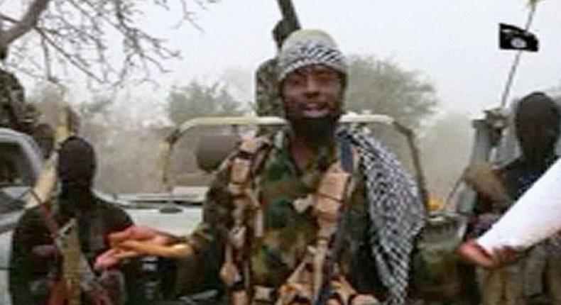 The leader of Boko Haram's main faction, Abubakar Shekau.