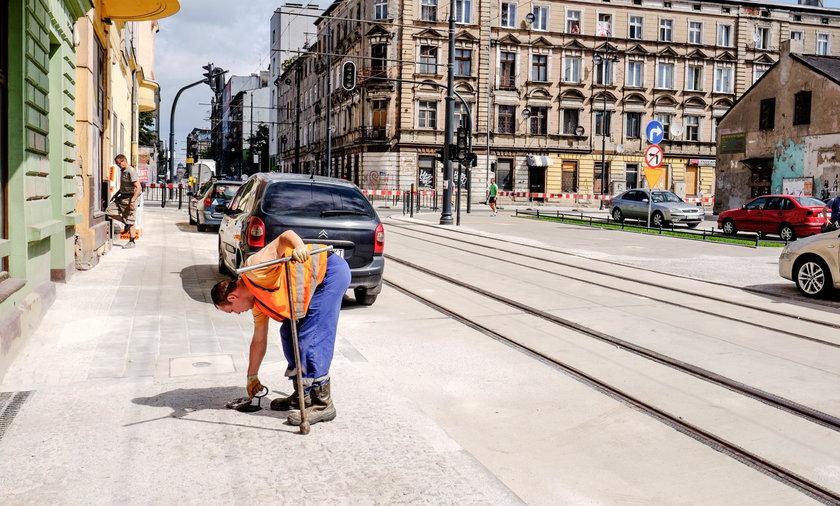 Ulica Kilińskiego w Łodzi otwarta. Inwestycja spóźniona o dziewięć miesięcy