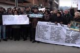 Đakovica, Albanci, Srbi, Protest, Badnji dan