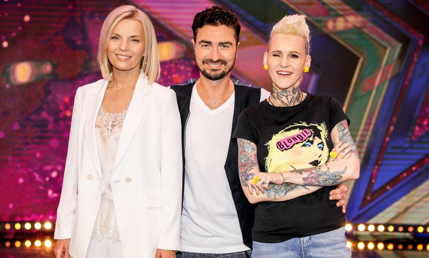 """""""Mam Talent 13"""" Małgorzata Foremniak, Agnieszka Chylińska i nowy juror - Jan Kliment."""