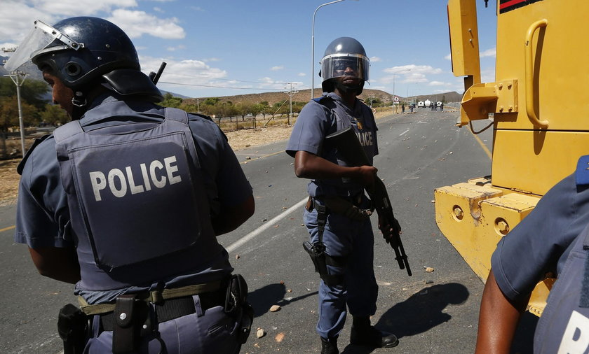 Policja Południowa Afryka