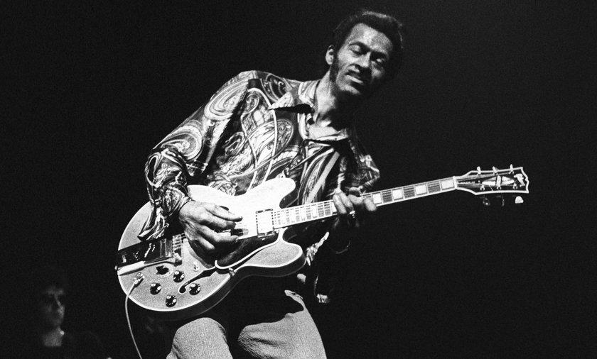 Chuck Berry zmarł w wieku 90 lat