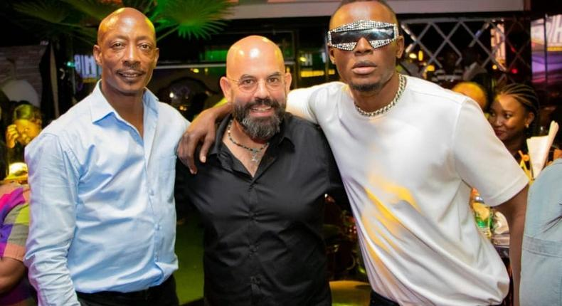 Chris Kirwa, Gilad and Arrow Bwoy. How Arrow Bwoy's Album Listening Party went down at Golden Ice Bistro (Photos)
