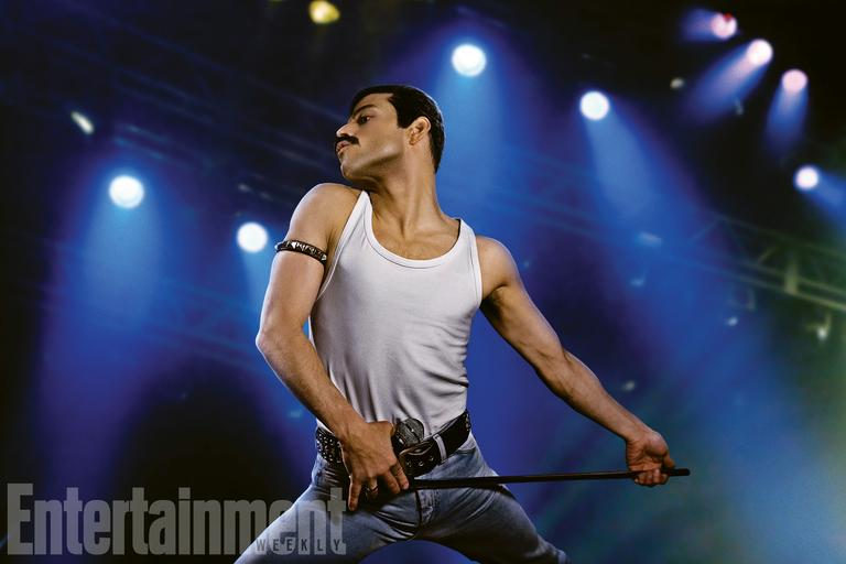 Rami Malek jako Freddie Mercury (fot. Entertainment Weekly)