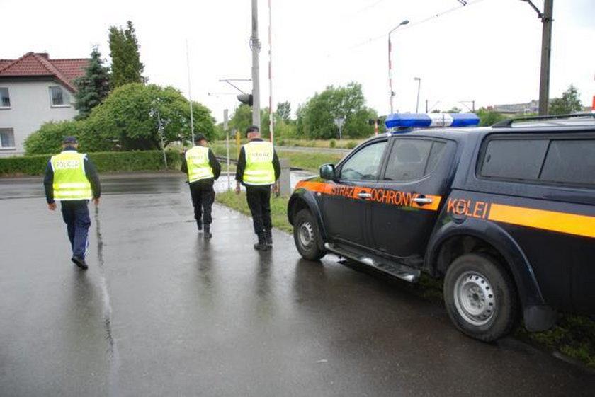 Akcja policji i SOK