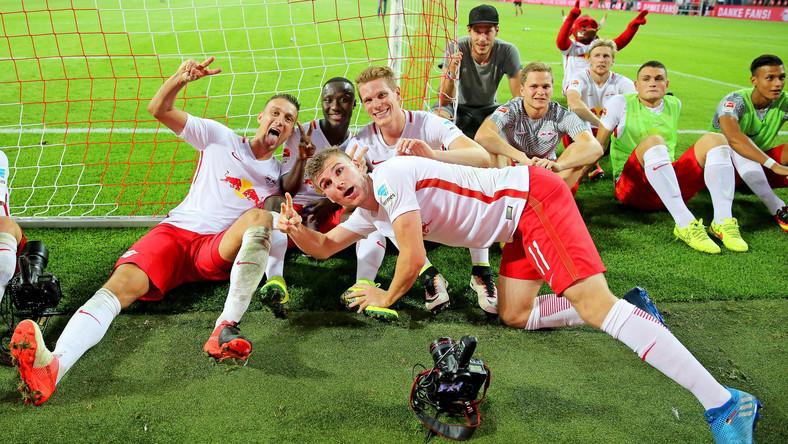 Stefan Ilsanker, Naby Keita, Timo Werner i Marcel Halstenberg (wszyscy RB Lipsk)