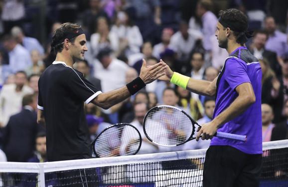 Rodžer Federer i Grigor Dimitrov