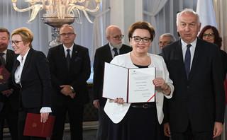 Zalewska: Reforma edukacji jest zamknięta. Problemy z naborem to wina samorządów. 'To ich zadanie własne'