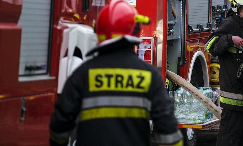 Wypadek w Szkole Podstawowej numer 10 w Tarnobrzegu