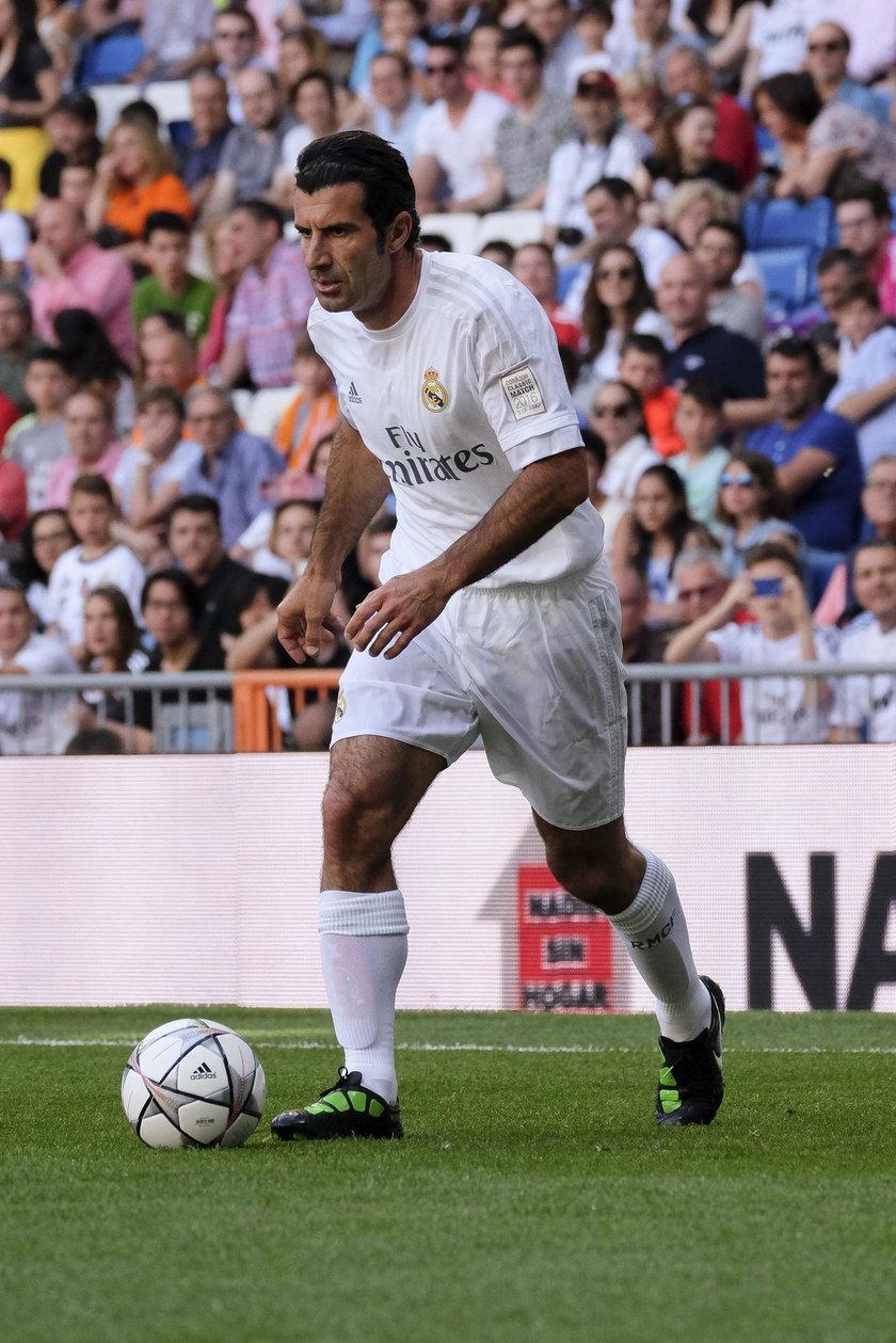Luis Figo okradziony. Gwiazdor Realu stracił pół miliona