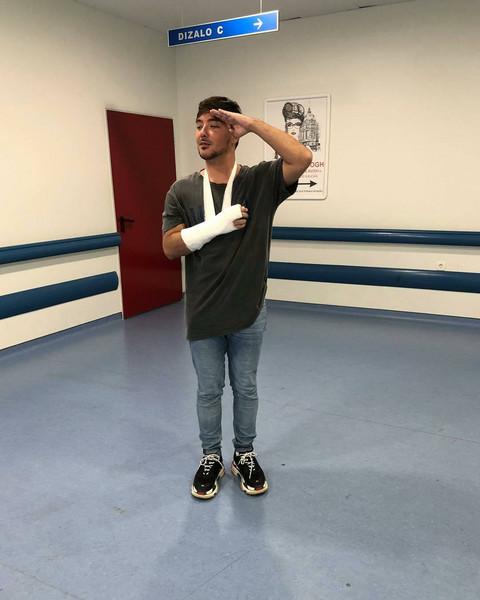 Nakon lomljenja ruke, Milanu Stankoviću PONOVO UGROŽENO ZDRAVLJE!