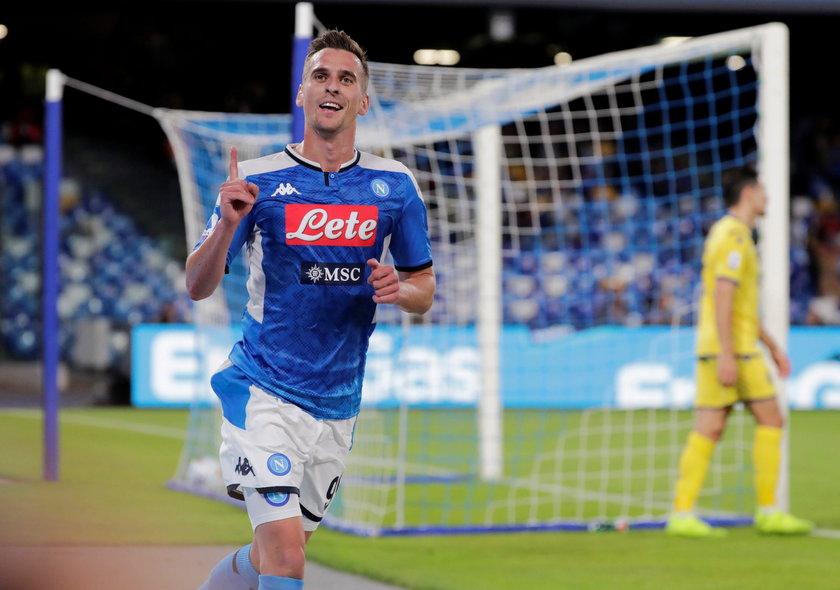 Dwa gole wystarczyły, by Arkadiusz Milik (25 l.) znów był uwielbiany w Neapolu.