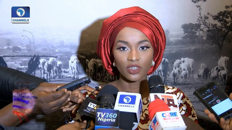 Hanan Buhari's MTN number was sold to Anthony Okoli after she stopped using the line. (Channels)