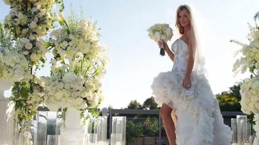 Joanna Krupa w sukni ślubnej