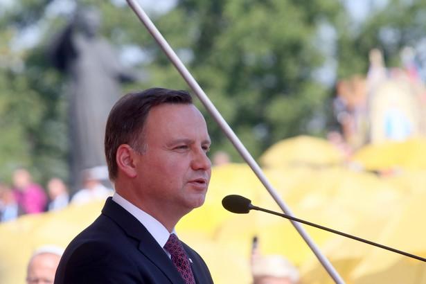 Prezydent Andrzej Duda, PAP/Waldemar Deska