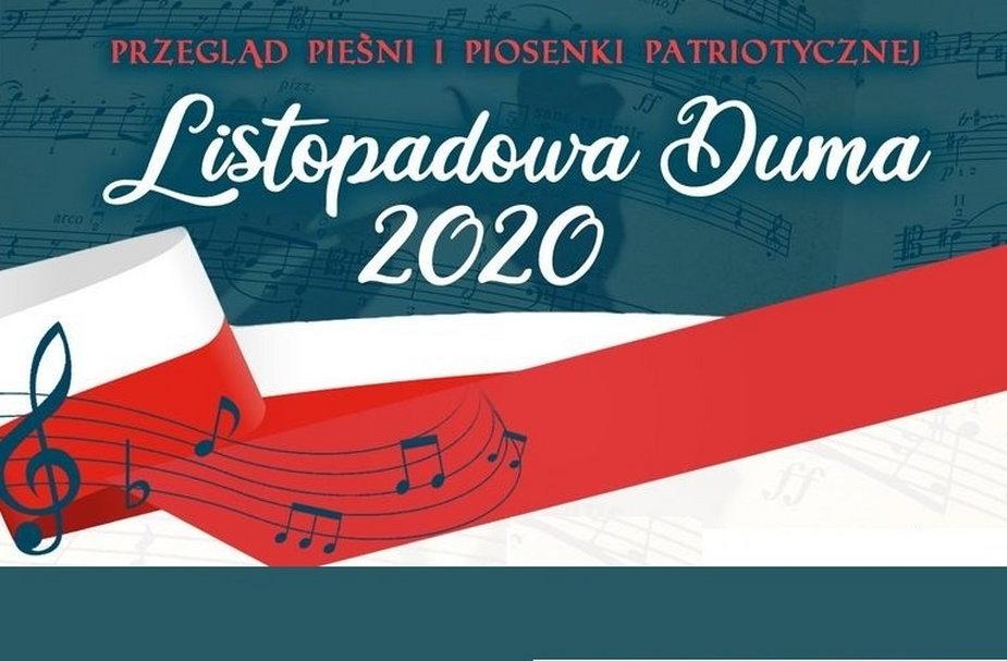 Listopadowa Duma Przegląd Piosenki Patriotycznej 2020