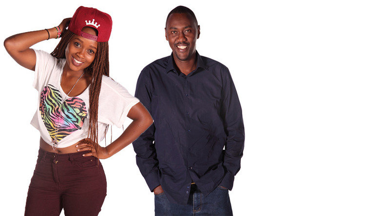 Presenters Shix Kapienga and Rapcha Sayantist. My kids wiped vomit from my mouth – Hot 96 presenter opens up on alcohol addiction