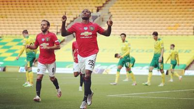 Odion Ighalo scores to help Manchester United to FA Cup semifinals