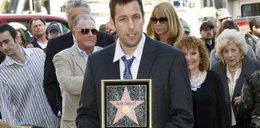 Sandler ma swoją gwiazdę