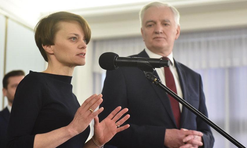 Jadwiga Emilewicz odchodzi z Porozumienia