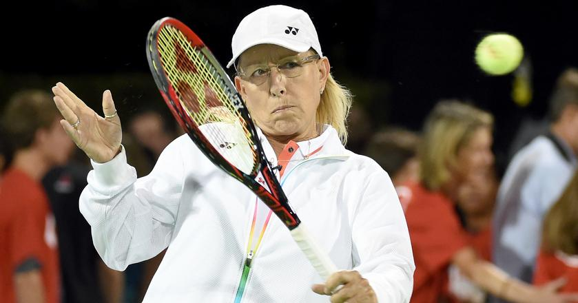 Martina Navratilova uderzyła w BBC w sprawie nierówności płac. Piłka jest teraz po stronie nadawcy