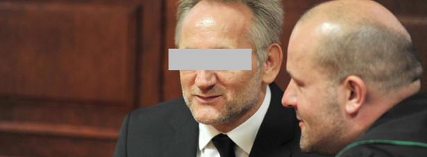 """Andrzej Z. pseudonim """"Słowik"""" podczas procesu ws. zabójstwa Marka Papały"""