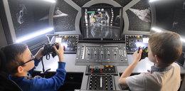 Mieszkają w statku kosmicznym z Gwiezdnych Wojen