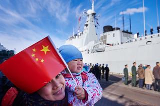 Okręty Chińskiej Armii Ludowo-Wyzwoleńczej zacumowały w Gdyni [GALERIA]