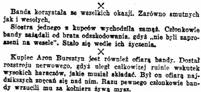 """Fragment """"Kuriera Warszawskiego"""", nr 187, 4 lipca 1932 r."""