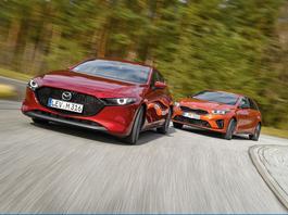 Kia Ceed kontra Mazda 3 - azjatyckie tygrysy