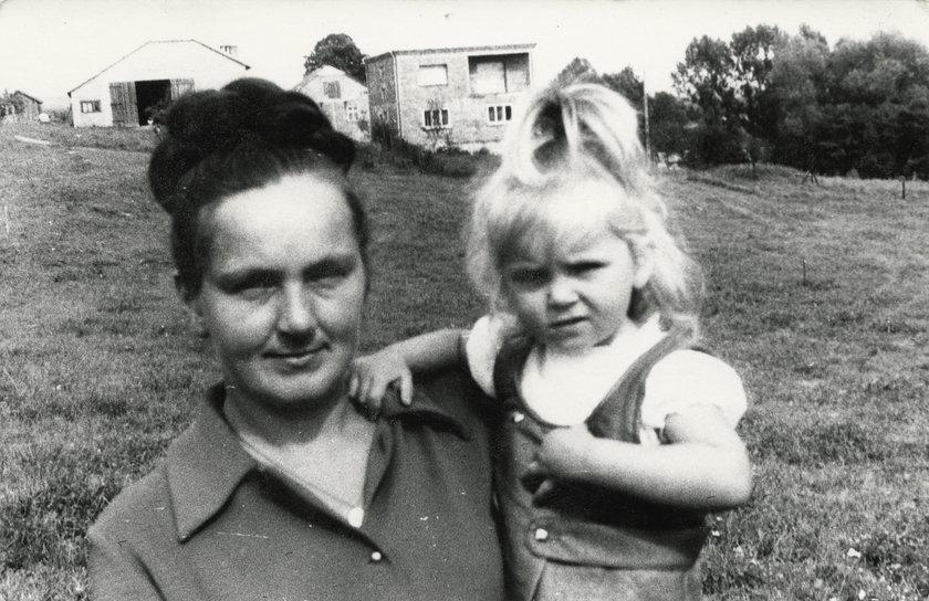 Ewa Wachowicz z mamą